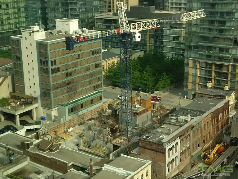 1 Yorkville construction 16 - August 2017