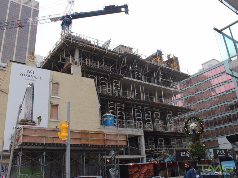 1 Yorkville construction 20 - December 2017