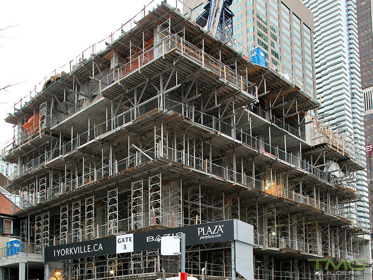 1 Yorkville construction 21 - January 2018