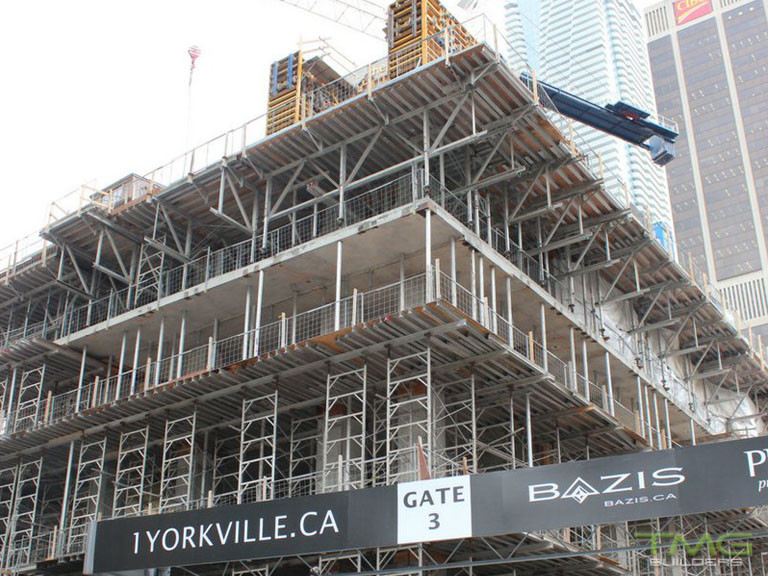 1 Yorkville construction 22 - February 2018