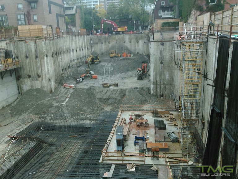 50 at Wellesley Station construction 4 - October 2016