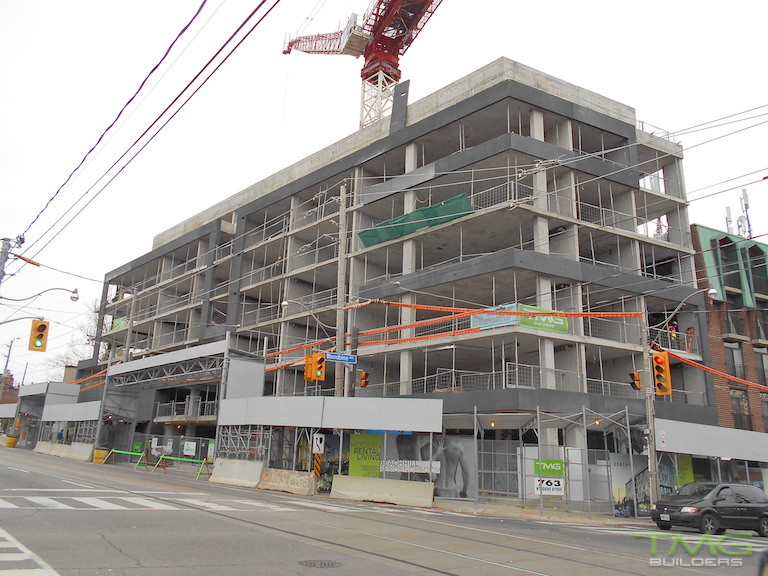 Beach Hill Residences construction 5 - December 2015