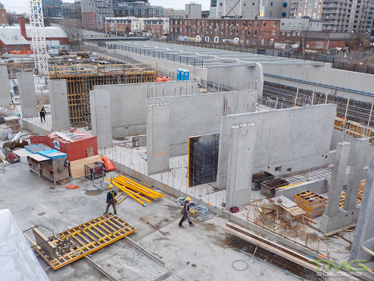 Garrison Point construction 13 - January 2018