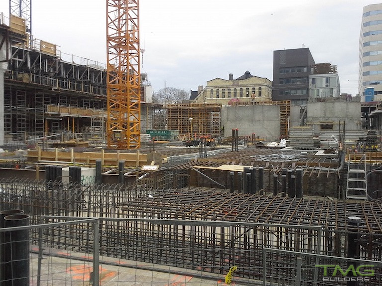 musée construction 2 - March 2015