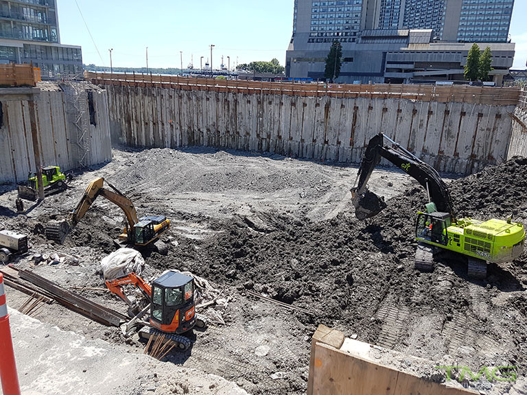 Pier 27 construction 8 - July 2017