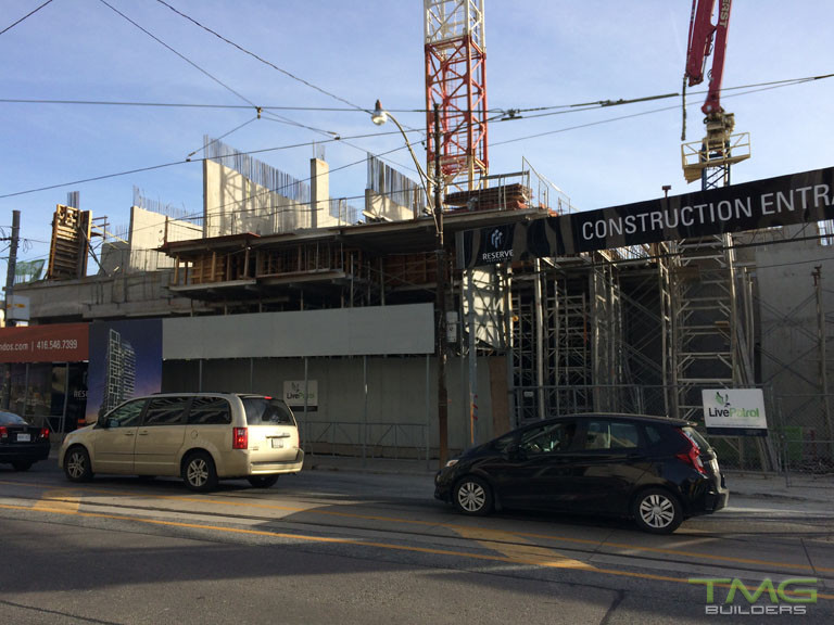 Rise Condominiums construction 10 - November 2016
