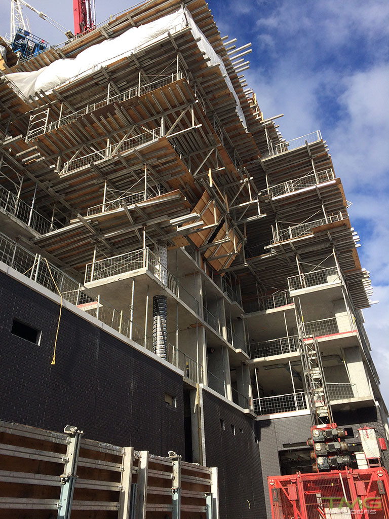 Rise Condominiums construction 13 - February 2017