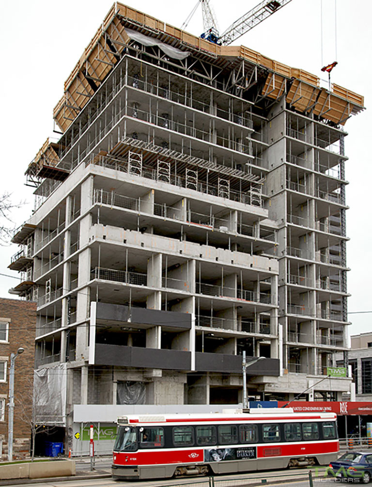 Rise Condominiums construction 14 - March 2017