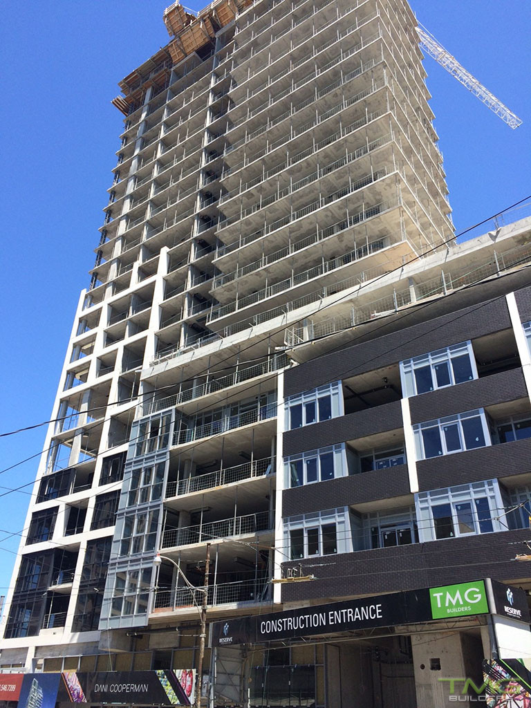 Rise Condominiums construction 16 - June 2017