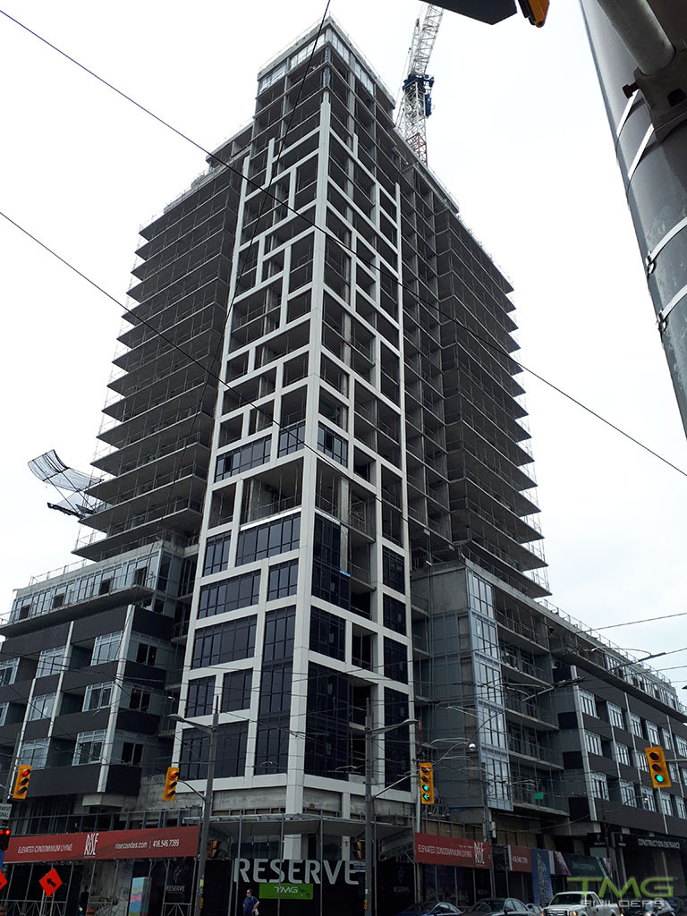 Rise Condominiums construction 18 - July 2017