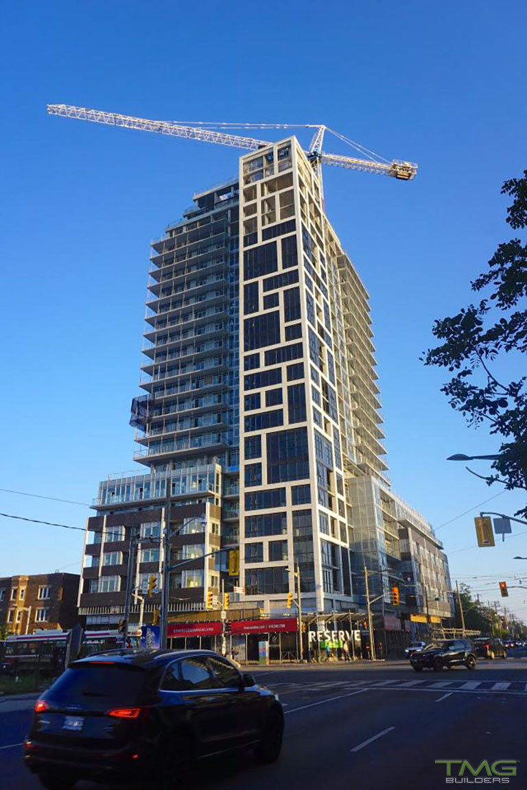 Rise Condominiums construction 20 - October 2017