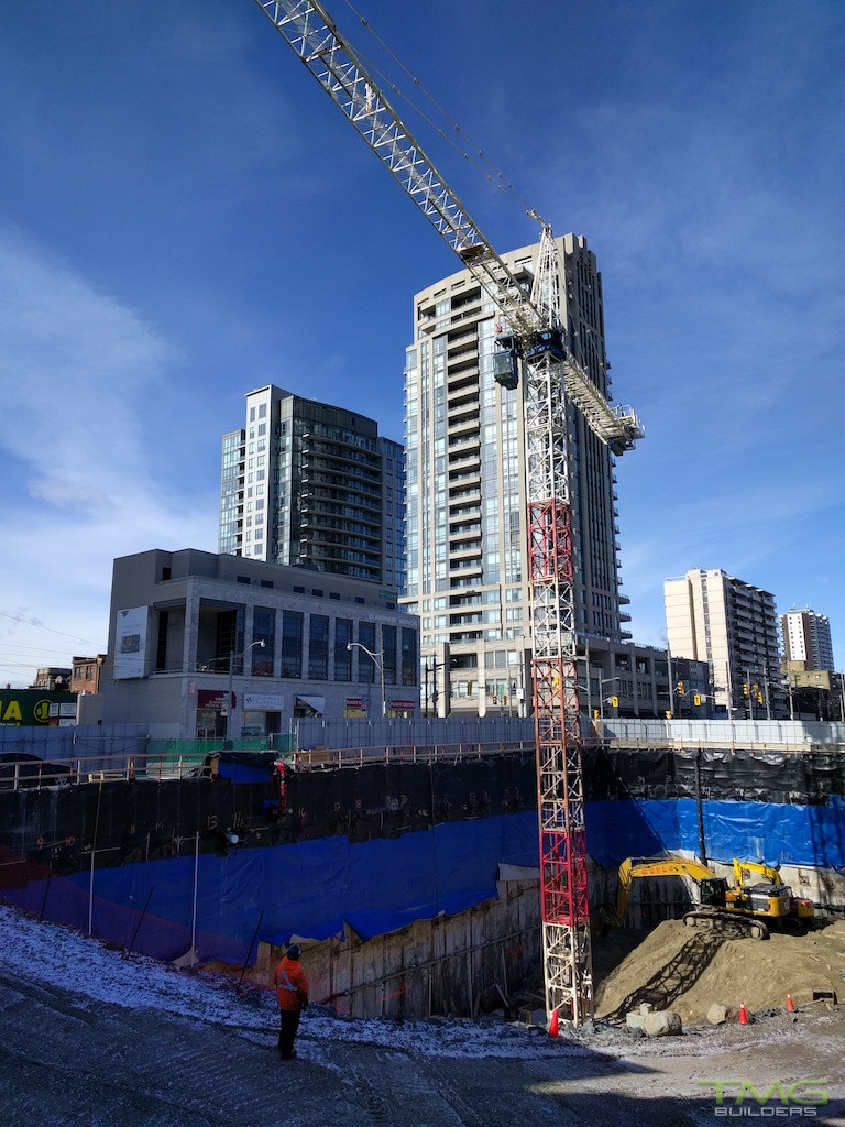 Rise Condominiums construction 5 - February 2016