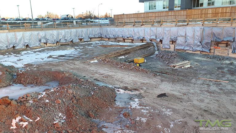 The Rocket Condos construction 2 - February 2018