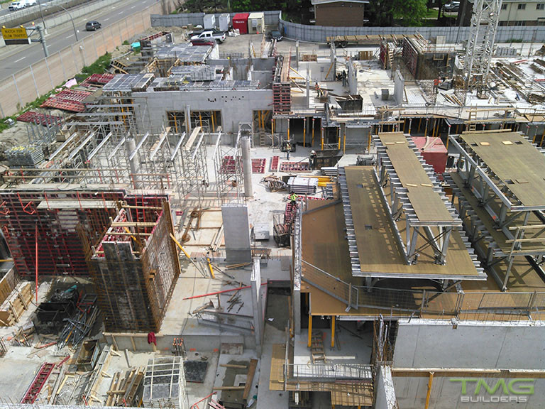 The Yorkdale Condominiums construction 10 - June 2017