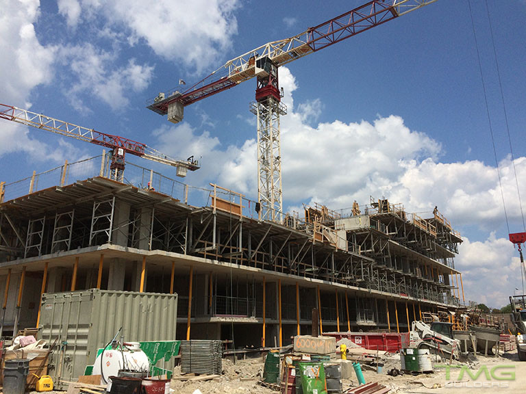 The Yorkdale Condominiums construction 12 - August 2017