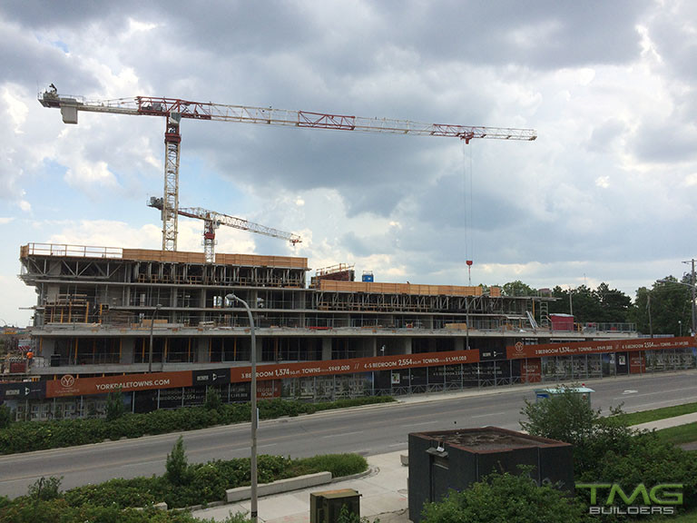 The Yorkdale Condominiums construction 13 - August 2017