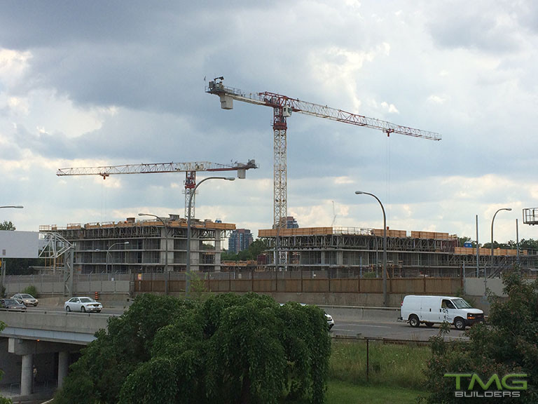 The Yorkdale Condominiums construction 14 - August 2017
