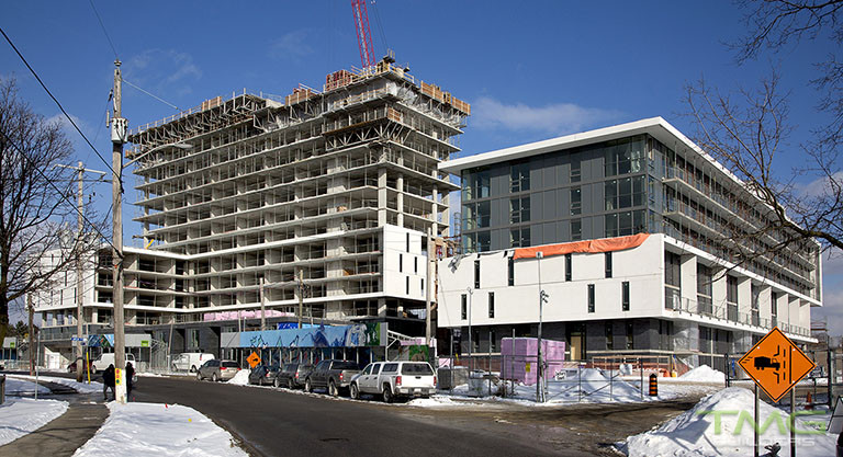 The Yorkdale Condominiums construction 19 - February 2018