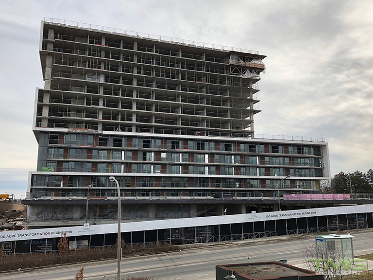 The Yorkdale Condominiums construction 20 - March 2018