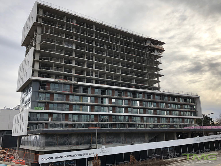 The Yorkdale Condominiums construction 21 - March 2018