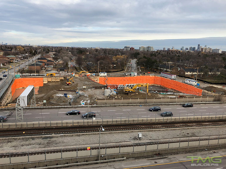 The Yorkdale Condominiums construction 23 - March 2018